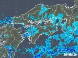 2018年05月28日の四国地方の雨雲の動き