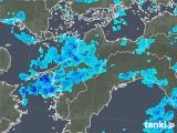 2018年05月28日の愛媛県の雨雲の動き