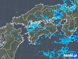 2018年05月29日の四国地方の雨雲の動き