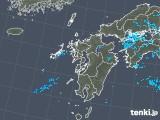 2018年05月29日の九州地方の雨雲の動き