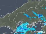 2018年05月29日の広島県の雨雲の動き