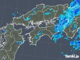 2018年05月30日の四国地方の雨雲の動き