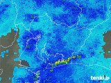 2018年05月30日の愛知県の雨雲レーダー