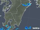 2018年05月30日の宮崎県の雨雲の動き