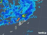 2018年05月30日の鹿児島県(奄美諸島)の雨雲の動き