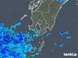 2018年05月30日の鹿児島県の雨雲の動き