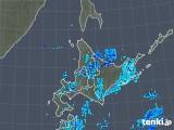 2018年05月31日の北海道地方の雨雲の動き