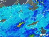 2018年05月31日の和歌山県の雨雲の動き