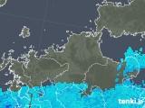 2018年05月31日の福岡県の雨雲の動き