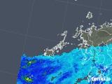2018年05月31日の長崎県(五島列島)の雨雲の動き