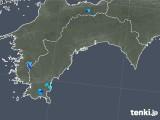 2018年06月02日の高知県の雨雲の動き