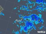 2018年06月03日の沖縄県(宮古・石垣・与那国)の雨雲の動き