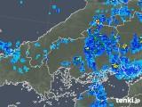 2018年06月08日の広島県の雨雲の動き