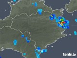 2018年06月08日の徳島県の雨雲レーダー