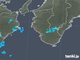 2018年06月09日の和歌山県の雨雲の動き