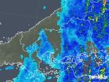 2018年06月11日の広島県の雨雲の動き