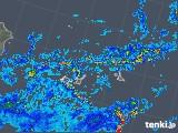 2018年06月14日の沖縄県(宮古・石垣・与那国)の雨雲の動き
