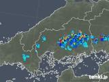 2018年06月15日の広島県の雨雲の動き