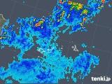 2018年06月18日の沖縄県(宮古・石垣・与那国)の雨雲の動き