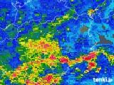 2018年06月20日の徳島県の雨雲レーダー