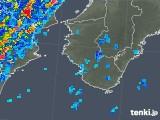 2018年06月29日の和歌山県の雨雲の動き