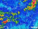 2018年07月06日の滋賀県の雨雲レーダー