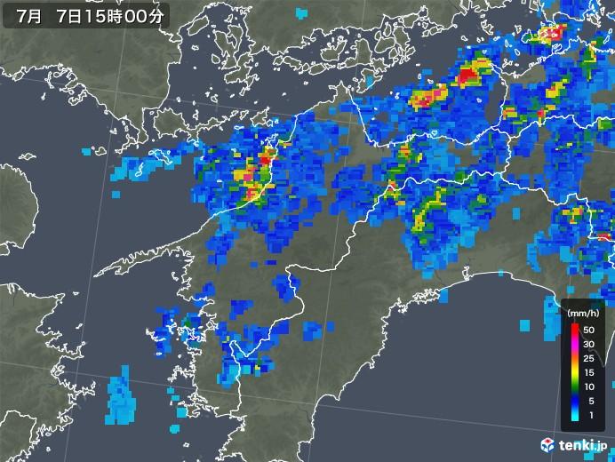 松山 天気 雨雲 レーダー
