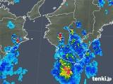2018年07月12日の和歌山県の雨雲レーダー