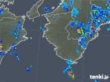 2018年07月29日の和歌山県の雨雲の動き