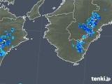 2018年07月30日の和歌山県の雨雲の動き