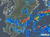 2018年07月30日の宮崎県の雨雲の動き