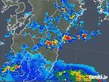 2018年07月31日の宮崎県の雨雲の動き