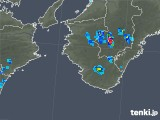 2018年08月01日の和歌山県の雨雲の動き