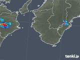 2018年08月02日の和歌山県の雨雲レーダー