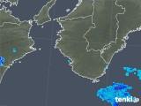 2018年08月03日の和歌山県の雨雲の動き