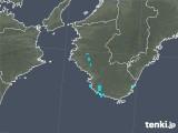 2018年08月05日の和歌山県の雨雲の動き