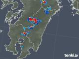 2018年08月05日の宮崎県の雨雲の動き