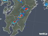 2018年08月06日の宮崎県の雨雲の動き