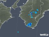 2018年08月07日の和歌山県の雨雲の動き