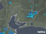 2018年08月10日の愛知県の雨雲の動き