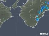 2018年08月10日の和歌山県の雨雲の動き