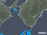 2018年08月11日の和歌山県の雨雲の動き