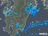 2018年08月11日の宮崎県の雨雲の動き