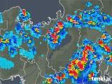 2018年08月12日の滋賀県の雨雲レーダー