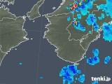 2018年08月12日の和歌山県の雨雲の動き