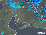 2018年08月13日の愛知県の雨雲の動き