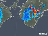 2018年08月13日の和歌山県の雨雲の動き