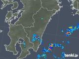 2018年08月14日の宮崎県の雨雲の動き