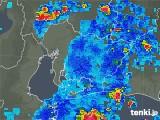 2018年08月15日の愛知県の雨雲の動き