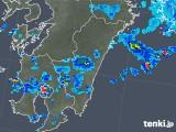 2018年08月16日の宮崎県の雨雲の動き
